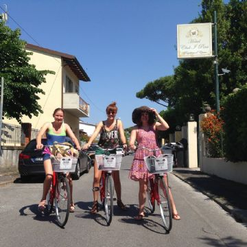Cycling on the Tuscan coast