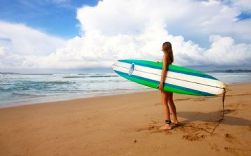 Surf Lessen in Versilia