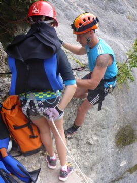 Canyoning in Versilia