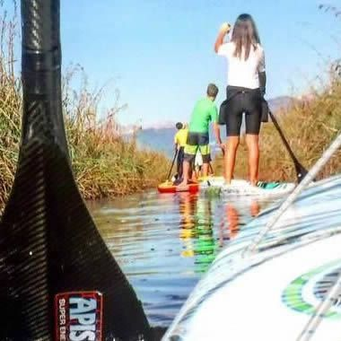 Try the experience of the SUP in Versilia